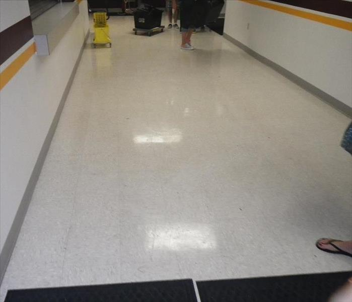 Flooding of Local School in Charleston, WV After